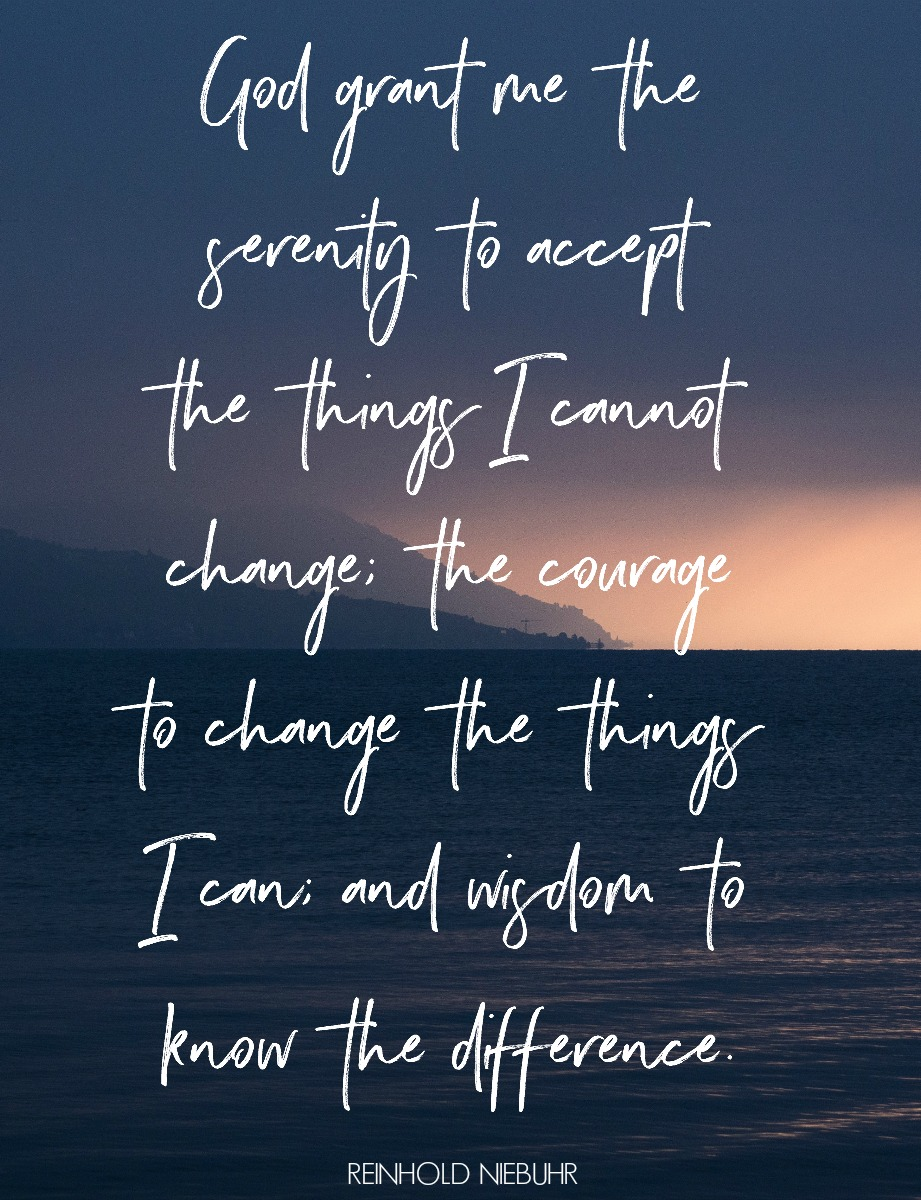 The Serenity Prayer. Circle of Daydreams. www.circleofdaydreams.omc