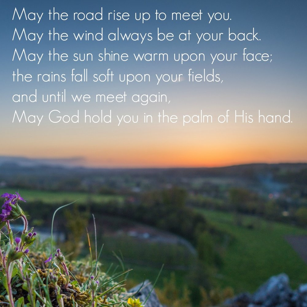 An Irish Blessing. Circle of Daydreams. www.circleofdaydreams.com