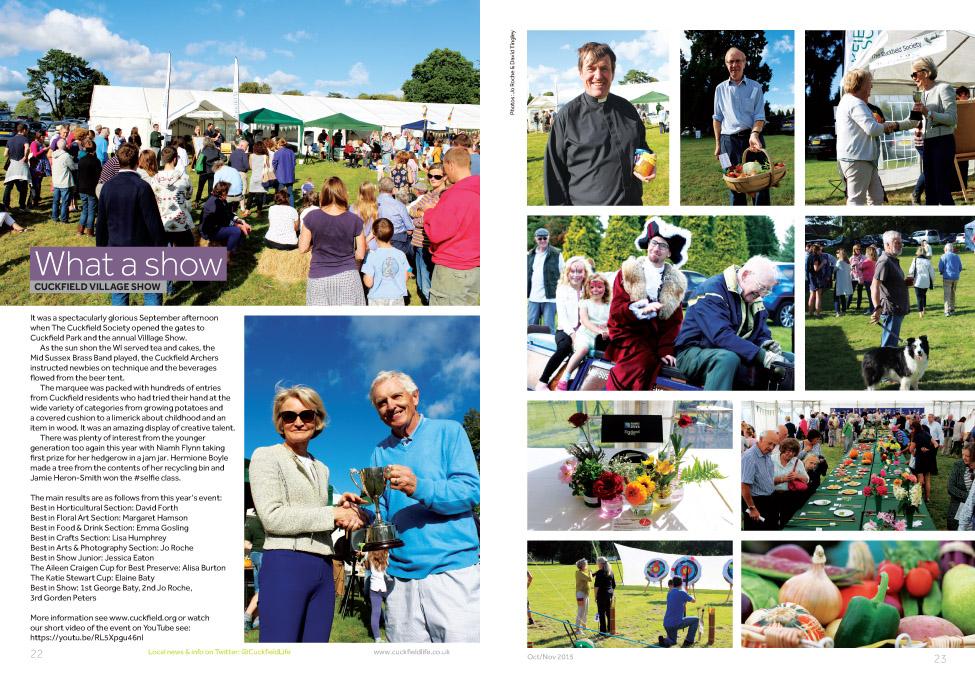 Cuckfield Village Show 2015 image