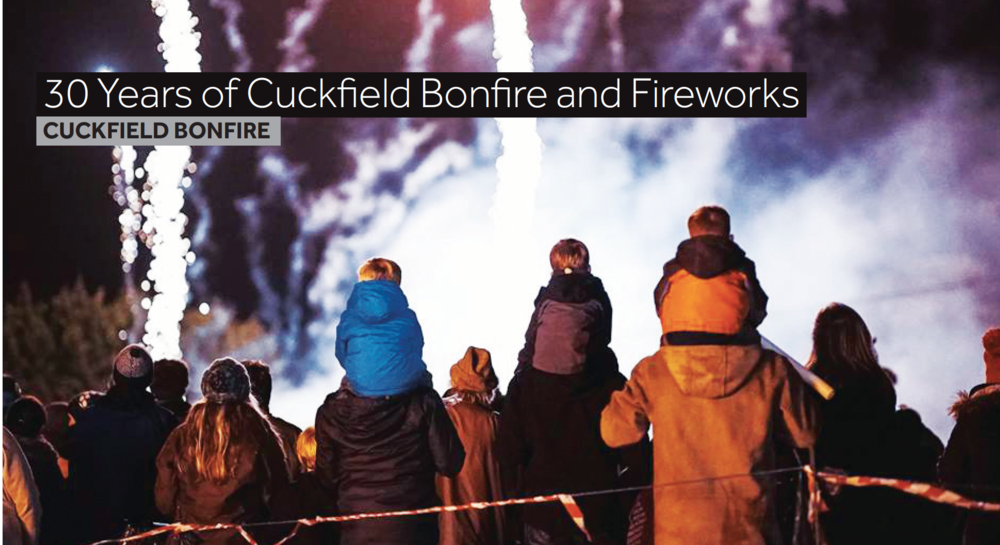 Cuckfield Bonfire 2016