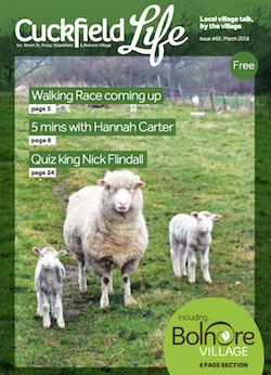 March 2018  8Mb - Cuckfield Life magazine