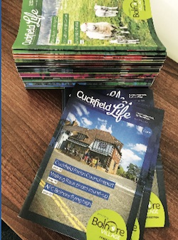 Assistant EDITOR needed for cuckfield life magazine - May 2018