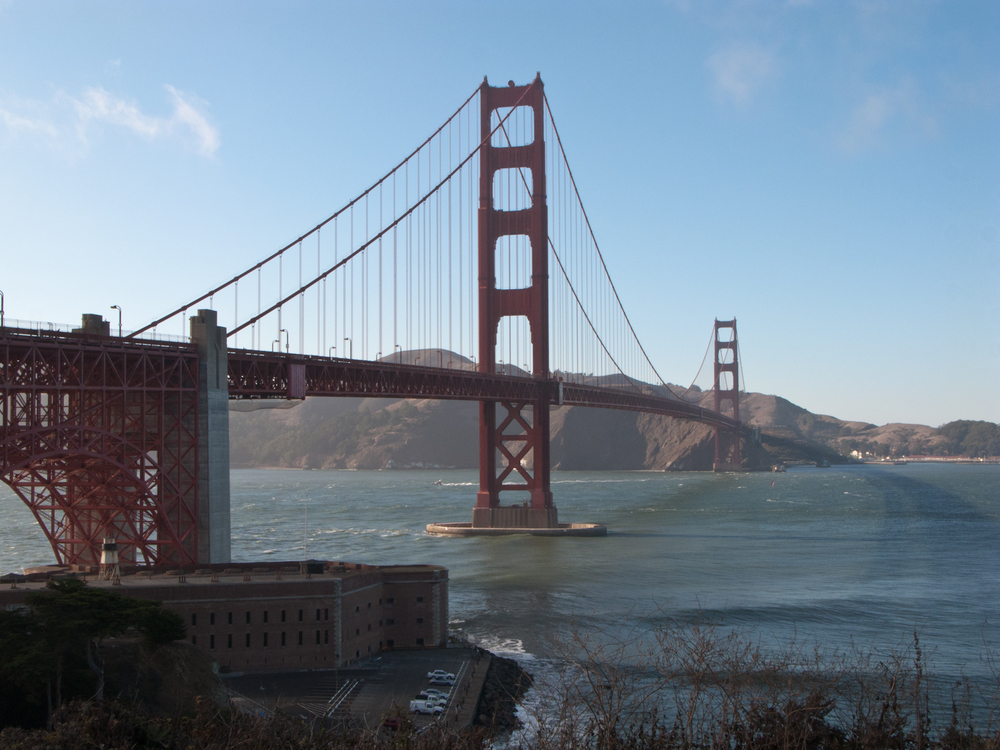 'Golden Gate Bridge' August 2008