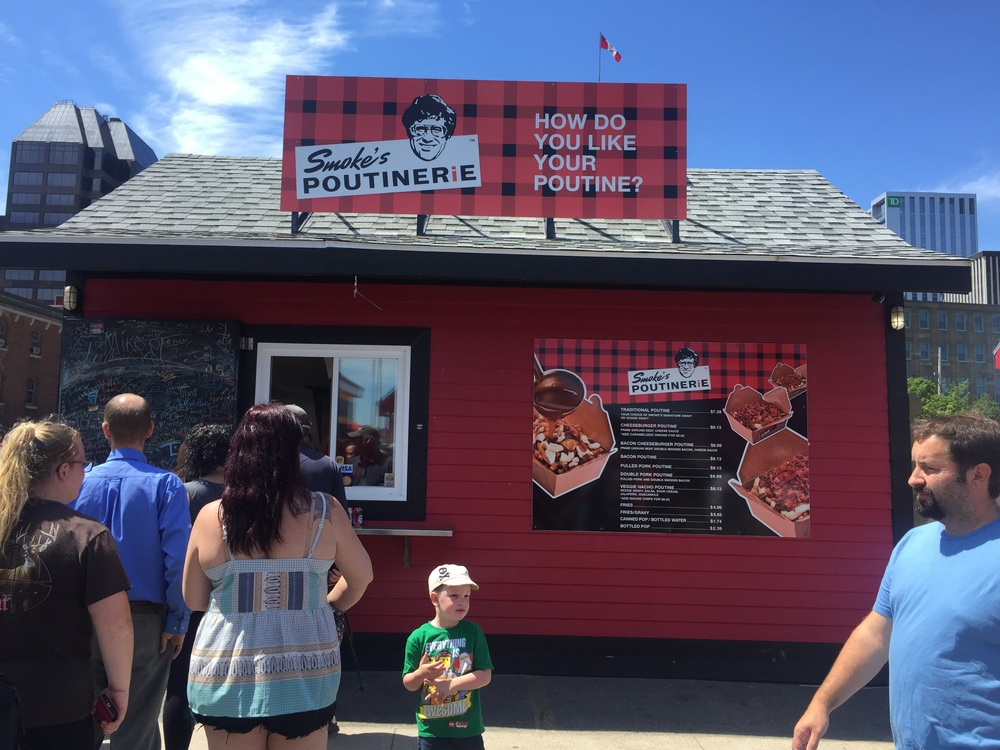 How do you like your poutine? Halifax.