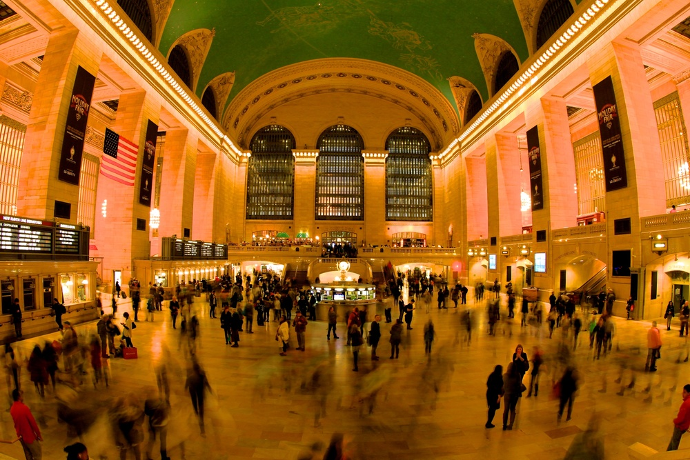 Grand Central Terminal, Nov. 27, 2015. ©Bobby Magill
