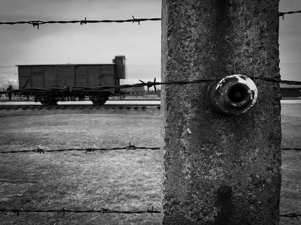 The Auschwitz-Birkenau death camp in Oswiecim. ©Bobby Magill