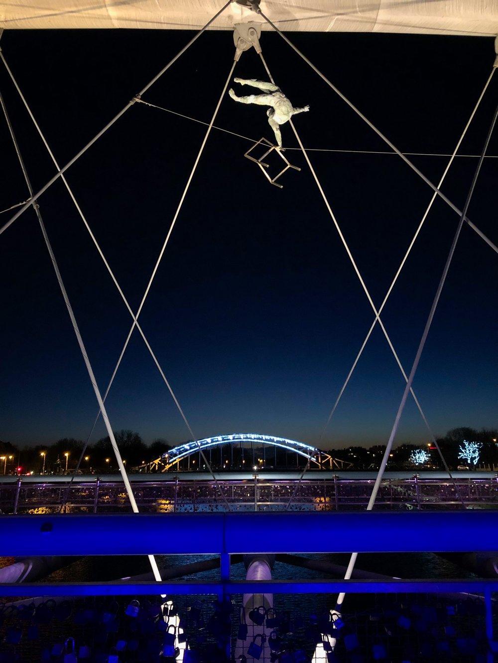 The Bernatka Footbridge in Krakow. ©Bobby Magill