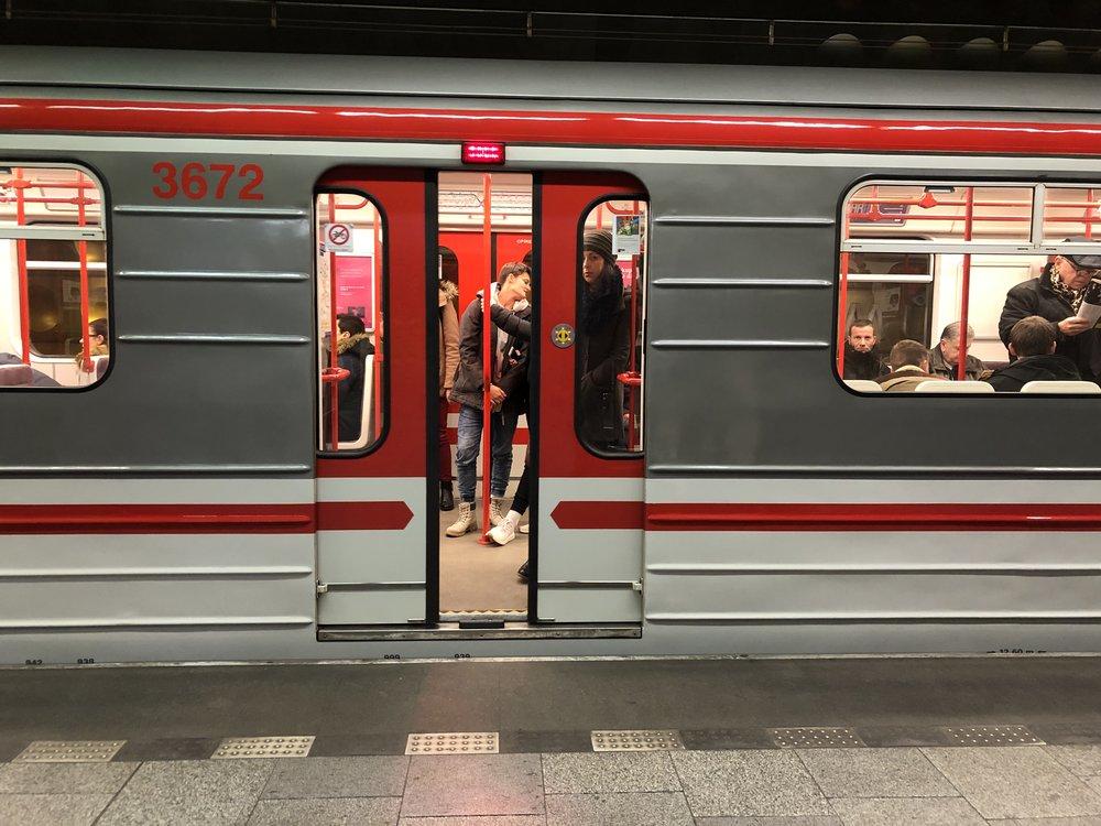 The Prague subway. ©Bobby Magill