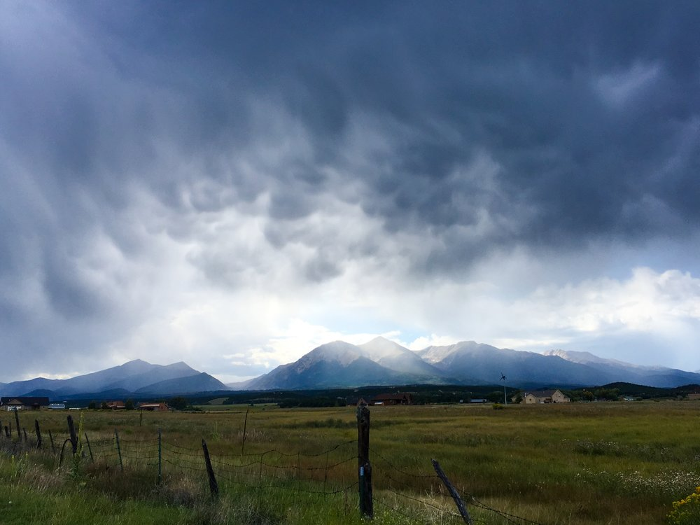 Collegiate Peaks Storm Light