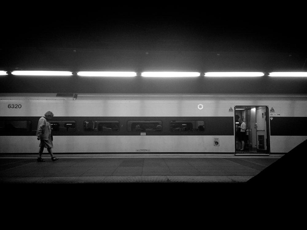 Hudson Line at Track 34