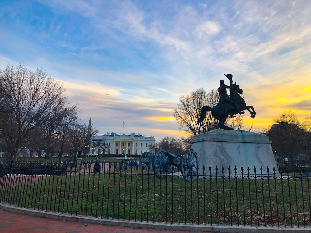 Lafayette Square, Washington, D.C.—Jan. 2019