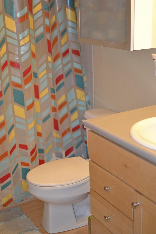 Third level bathroom.