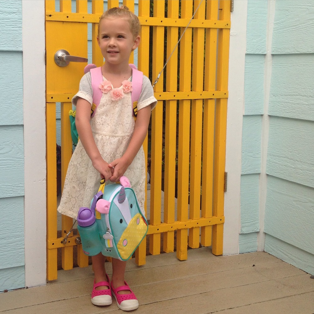 first day of school, small world preschool 2015