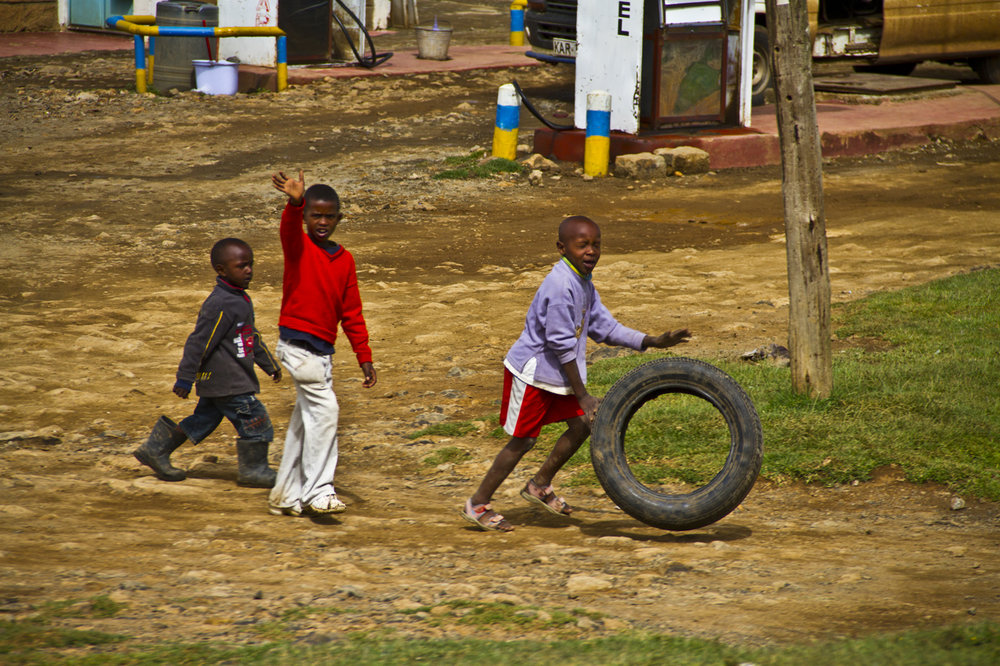 1_Kenyan Children Playing in the Street_Tony Banks.jpg