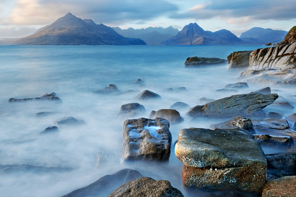 Last Light Elgol by Trevor Hunter  (Copyright Trevor Hunter)