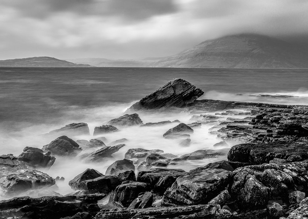 """Storm over Elgol"" by Robin Couchman"