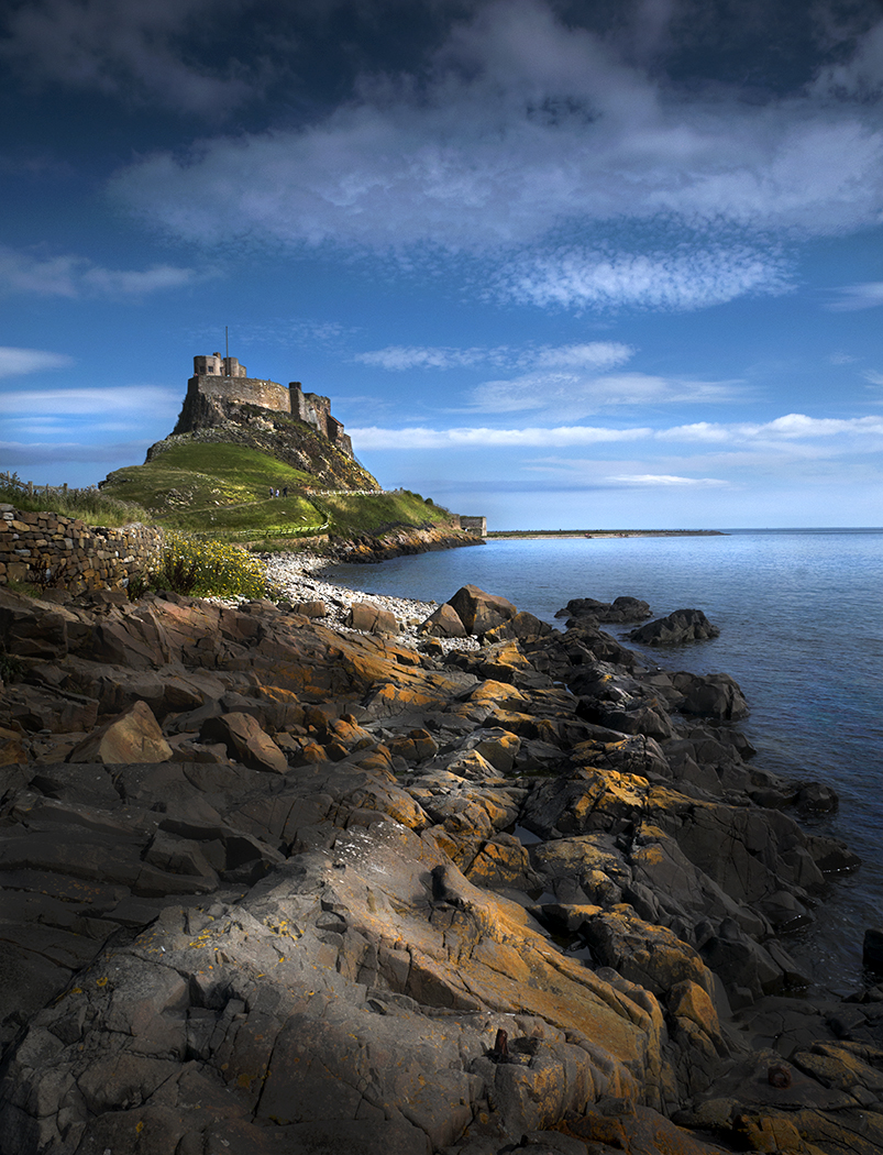 """Holy Island"" by Alan Docherty"