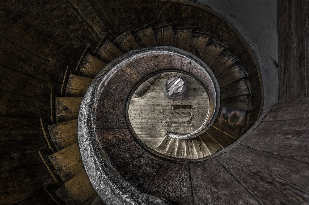 """Spiralling Down"" by Mark Chambers"