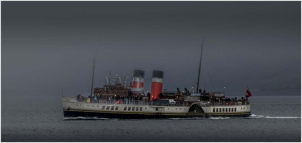 """Waverley in the Evening Mist"" by Dave Hull"
