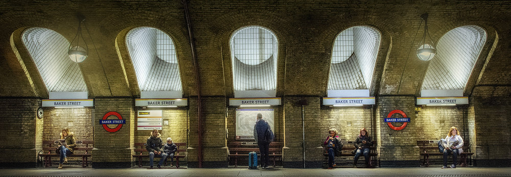 """Baker Street Station"" by Mark Chambers"