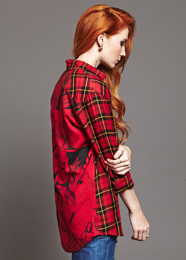 Александра Федорова лицо коллекции рубашек