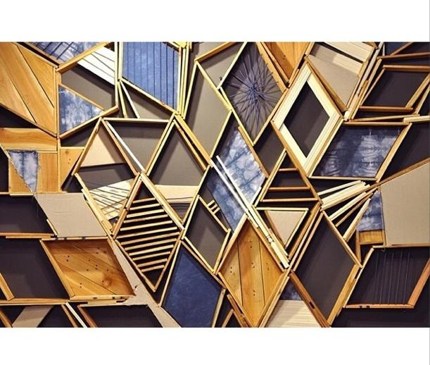 Christopher Bettig installation in Chicago