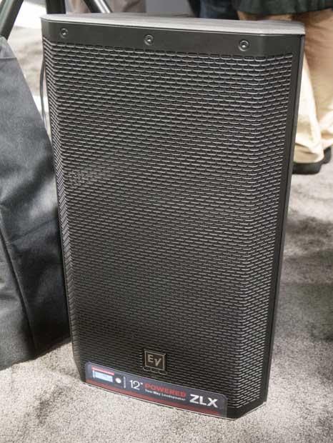 CTW NAMM 2013 Coverage: EV ZLX Powered Speakers — ChurchTechArts