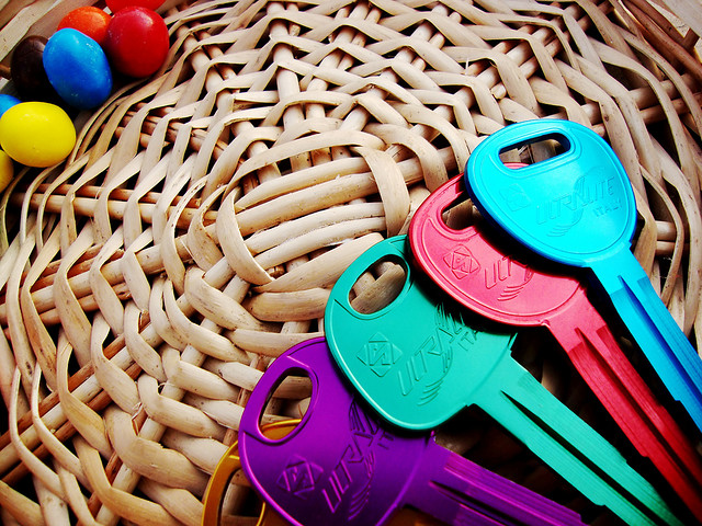 Image courtesy of  Virtue Arts . Yes, I know there are more than three keys there. Do you know how hard it is to find a picture of three keys on Flickr that is useable for commercial purposes? Just roll with me, OK?