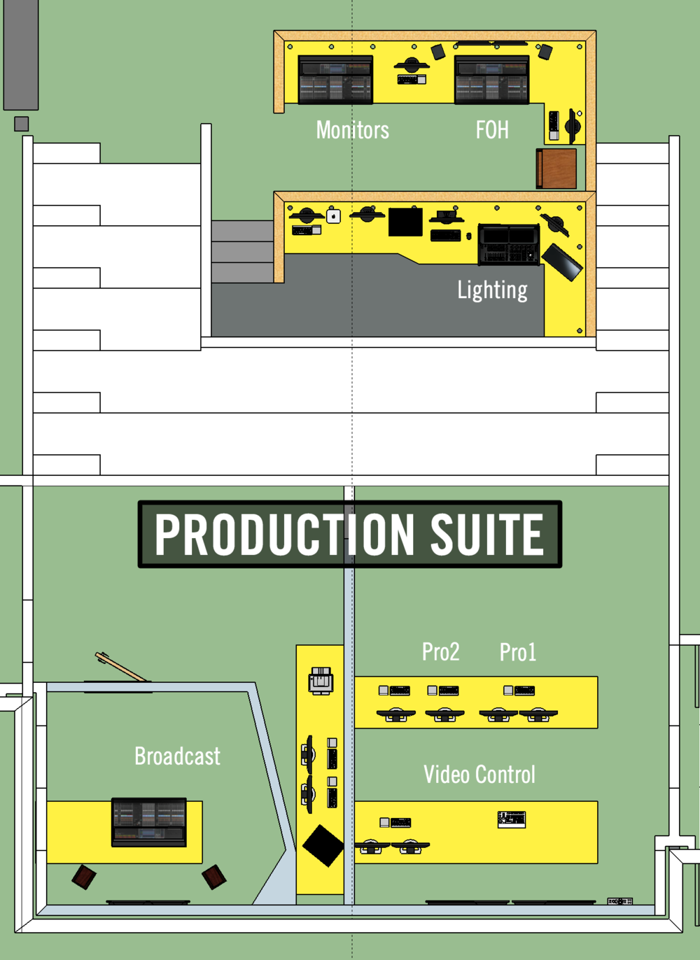 Sandals Production Layout