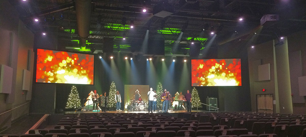 One of my favorite PAs to date; Northview Church in Anderson, IN.