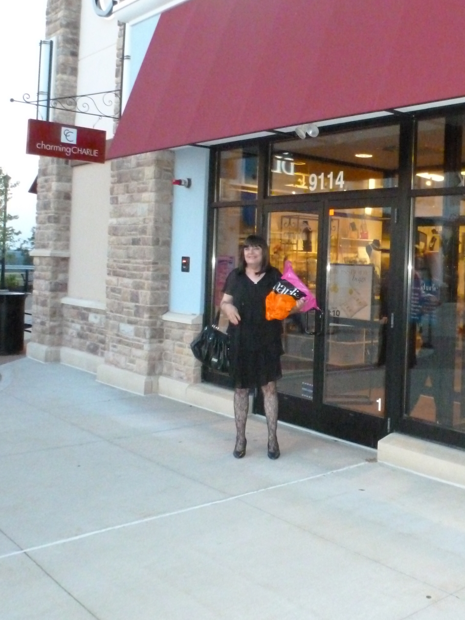 We had to practically drag Chrissie out of the store. Even after we had, she went back in for a final purchase!