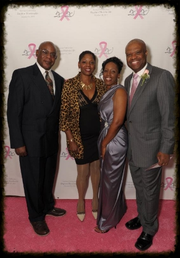 Celebrating Daphne 20/20 Cancer Survivor at the Tower Club in Dallas, Texas