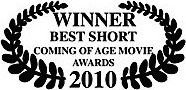 winner best short coming of age movie awards 2010 james connor clements.jpg