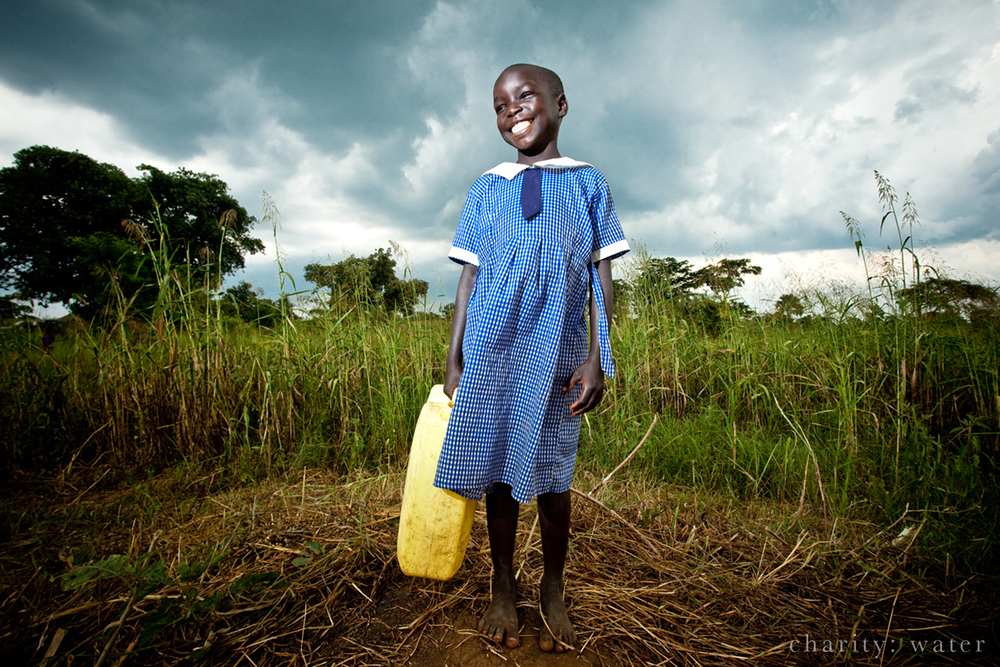 Charity:Water  brings clean wells around the world.