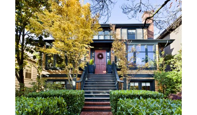 San Franciscan inspired Craftsman in the heart of Madison Park