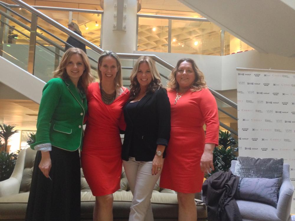 Keri Petersen, Lori Dennis, Kelli Ellis, & me.