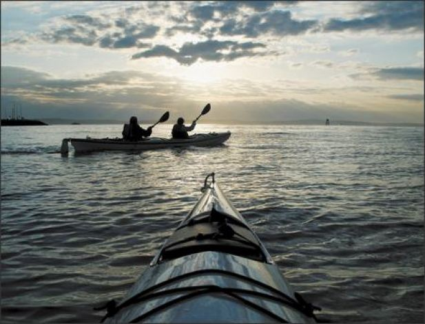 As a group or in solitude, kayaking connects you with the magic of the Puget Sound.