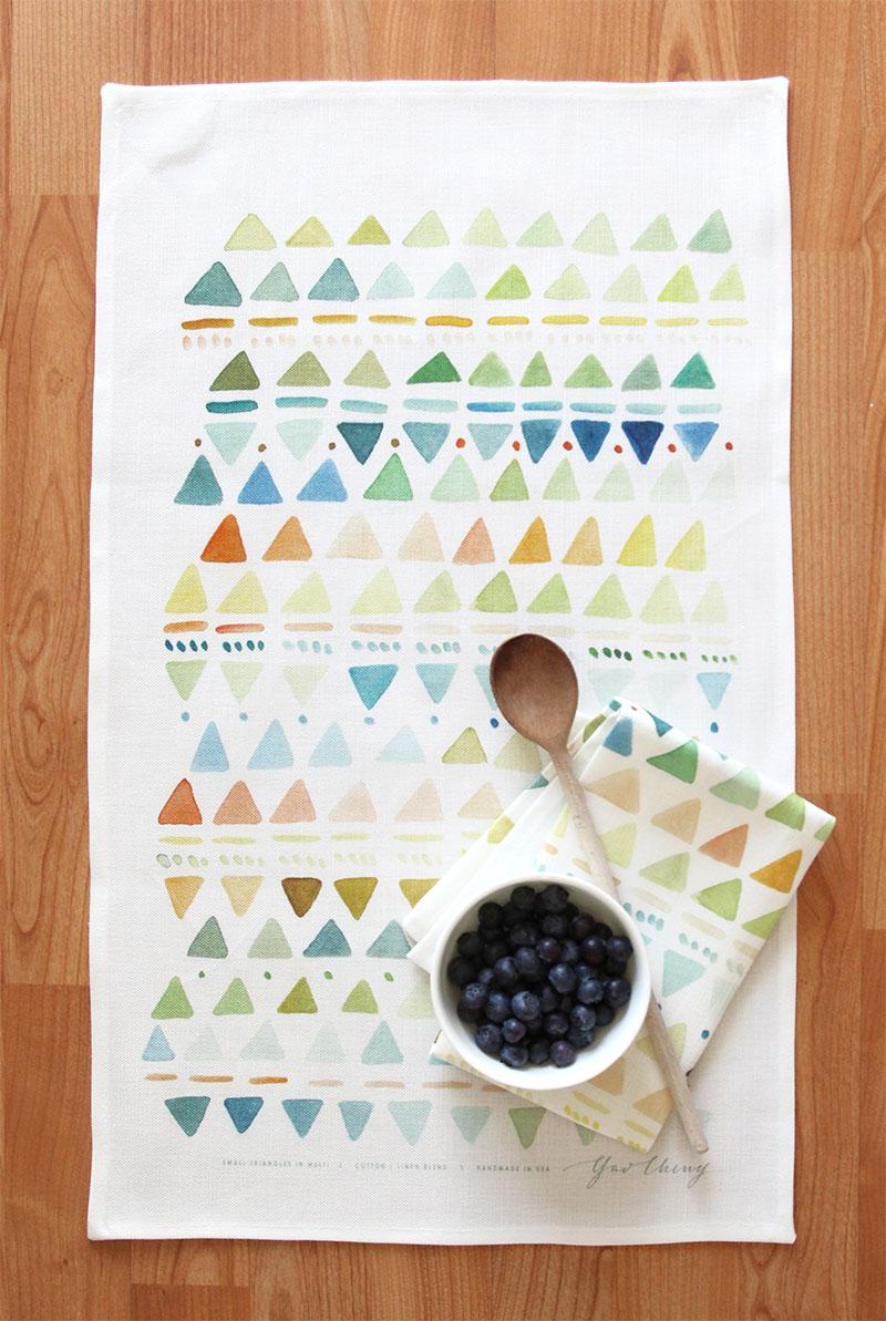 new printed tea towels - Kitchen Towels New Design