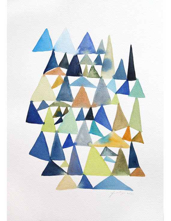 Forest of Triangles  / Yao Cheng