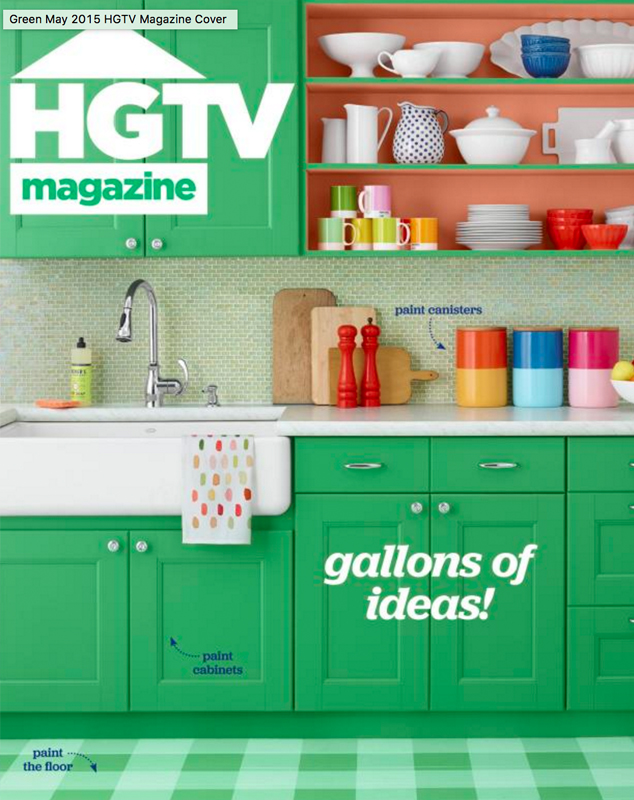 HGTV Magazine - May 2015 cover feature