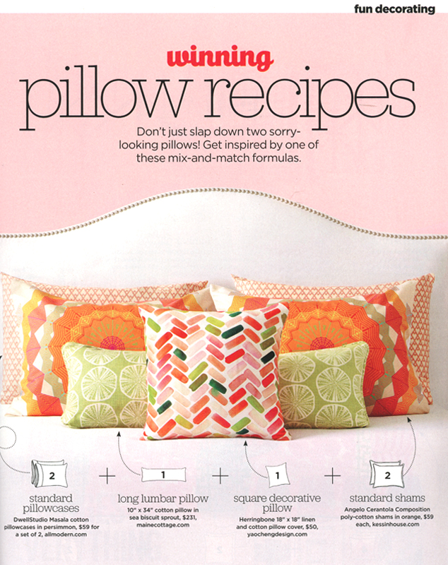 HGTV Magazine  - April 2016 feature