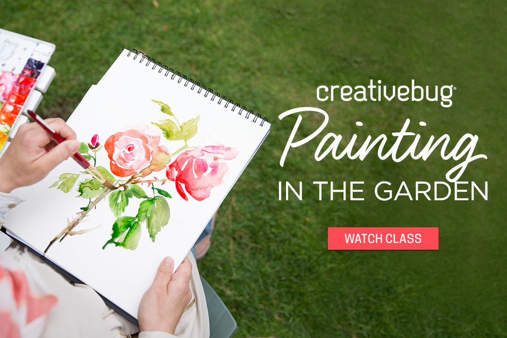 Yao Cheng Design- Painting in the Garden- Creativebug