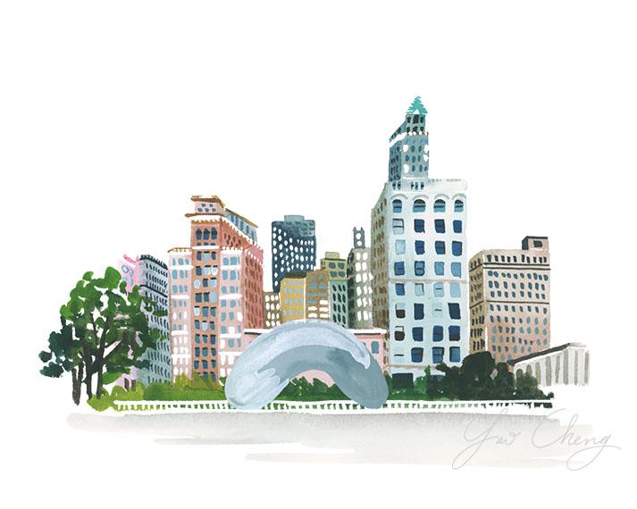 Chicago I Yao Cheng Design