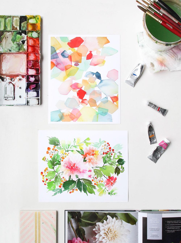 Dahlia Flourish    l  Gems Overlay   IYao Cheng Design