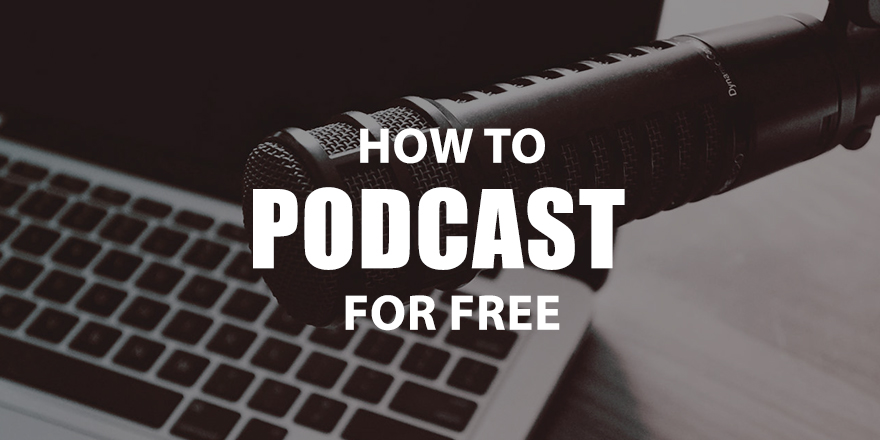 Learn how to podcast for free with online tools available to anyone.