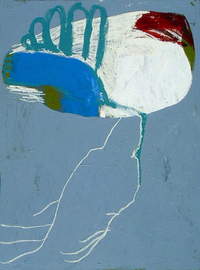 Arctic Sand Runner  2005 Acrylic on cotton canvas 136 x 105cm