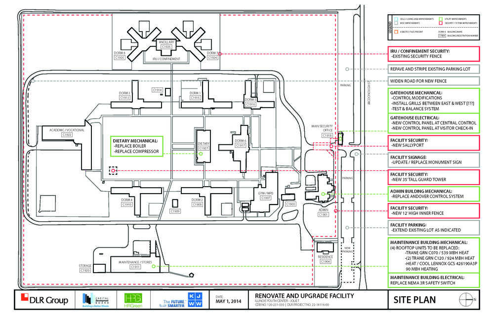 DLR Group TILLMAN DESIGN – Site Security Plan For Construction Project
