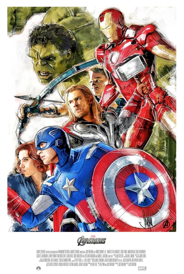 The Avengers Art That Never Made It To The Drawing Board!