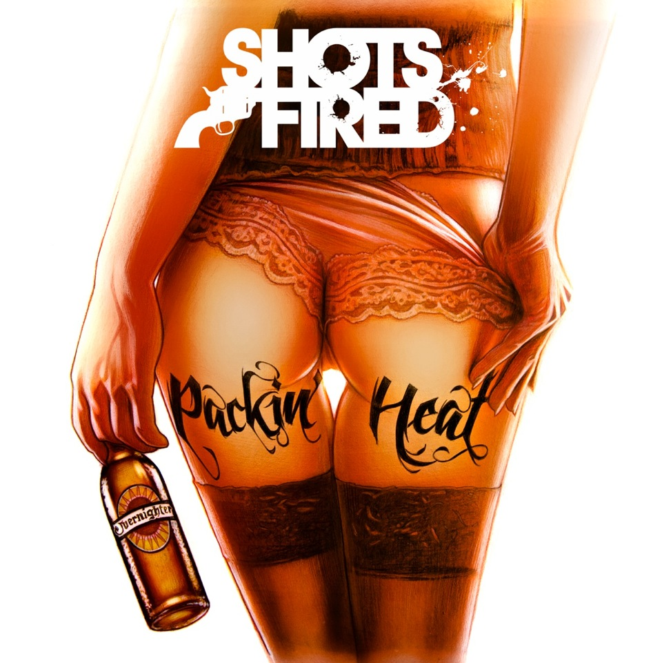 Shots Fired - Packin' Heat - Illustrating a Rock Album Cover