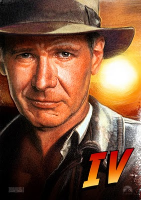 "It's all go on the Indy front with news coming in from all sides of the internet...the  first official photo  has been released of Harrison Ford donning the fedora for the 1st time in the last 18 years! Things are really hotting up and as a true Indy fan, I am extremely excited! This is going to be one of those moments in film history that will blow people away! I want to wish everyone involved in the production all the best and as Steven Spielberg said on the  first day of shooting  ""Break a leg""..."